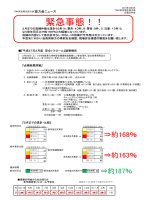 緊急事態!! - トヨタ自動車九州安全衛生協力会