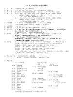3/29春季陸協記録会