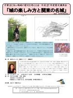 「城の楽しみ方と関東の名城」 - 手賀沼と松ヶ崎城の歴史を考える会のHP